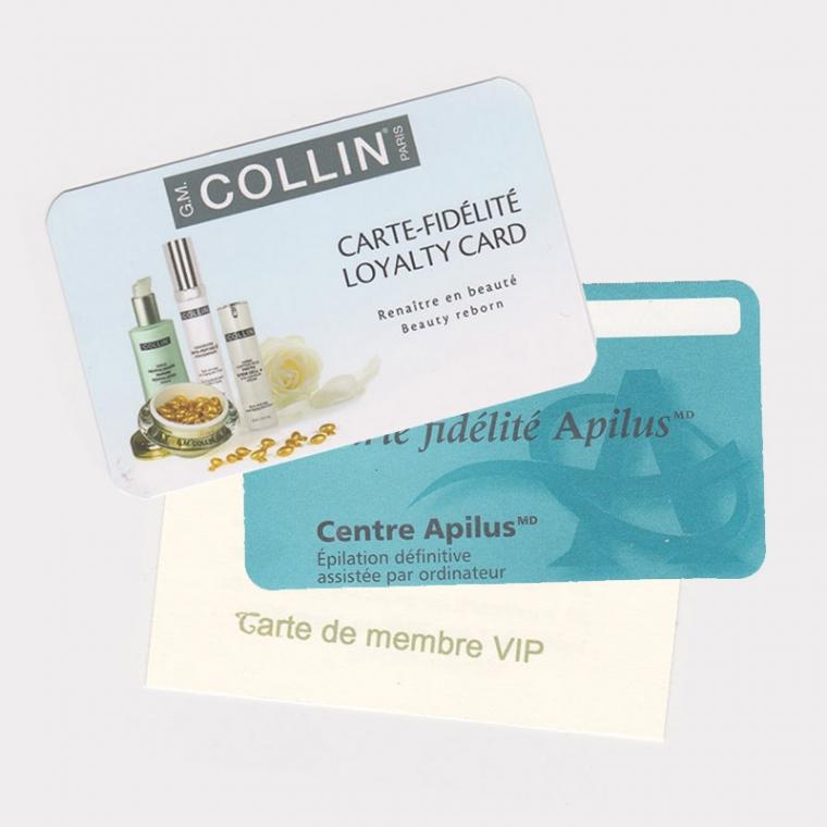 carte fidélité GMCollin